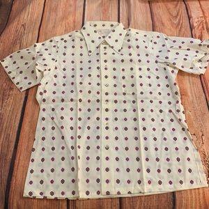Lucien Piccard Vintage Short sleeve shirt
